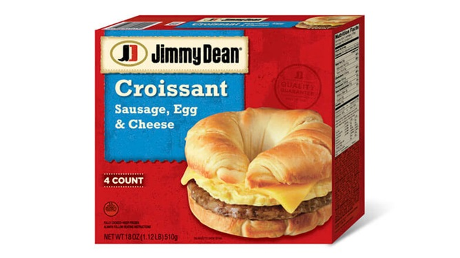 Review: Jimmy Dean Croissant Sandwich – Sausage, Egg, Cheese