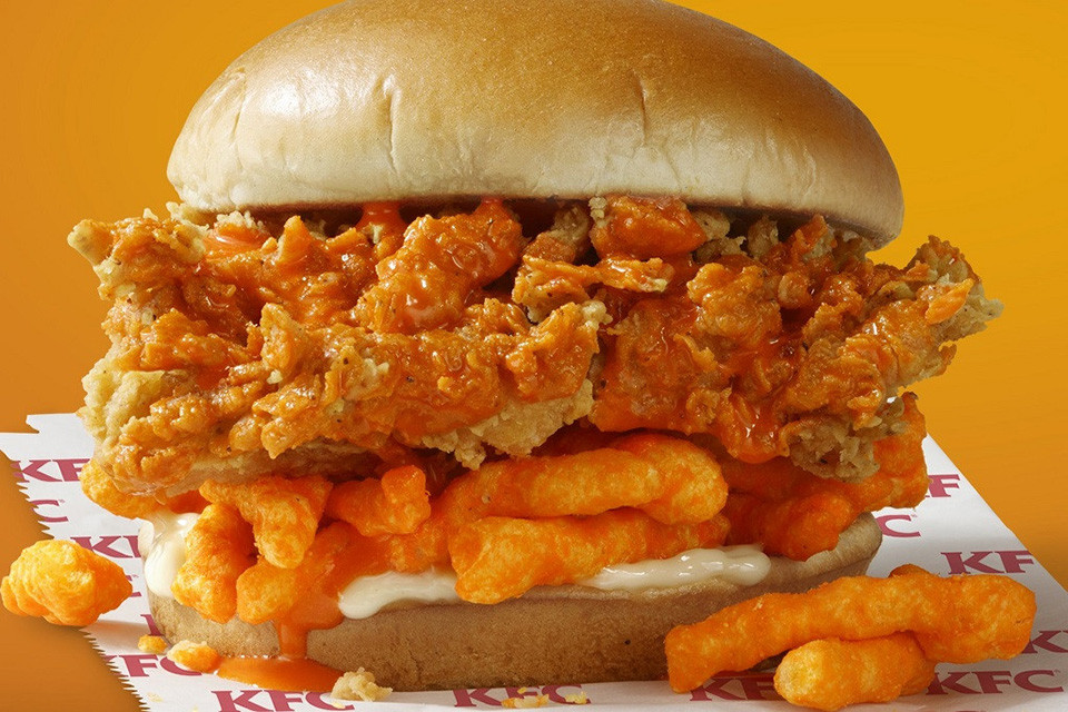 Review: KFC Cheetos Chicken Sandwich – Good or Inedible?