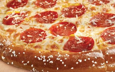 Little Caeasars Brings Back Pretzel Crust Pizza