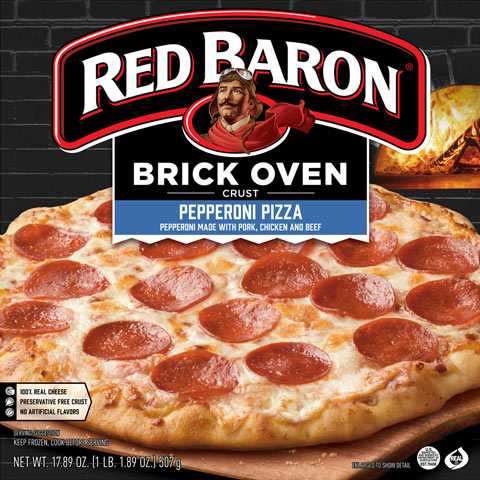 Review: Red Baron Pepperoni Pizza – Brick Oven