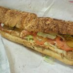 Subway Oven Roasted Chicken Sandwich